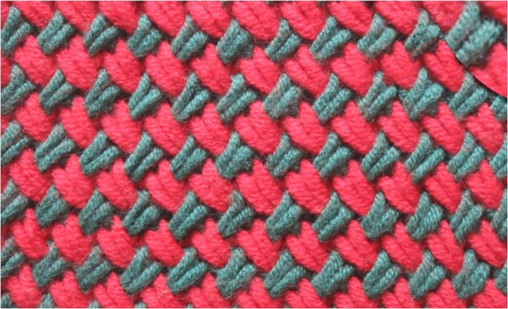 Woven Plait Stitch Knitting Tutorial