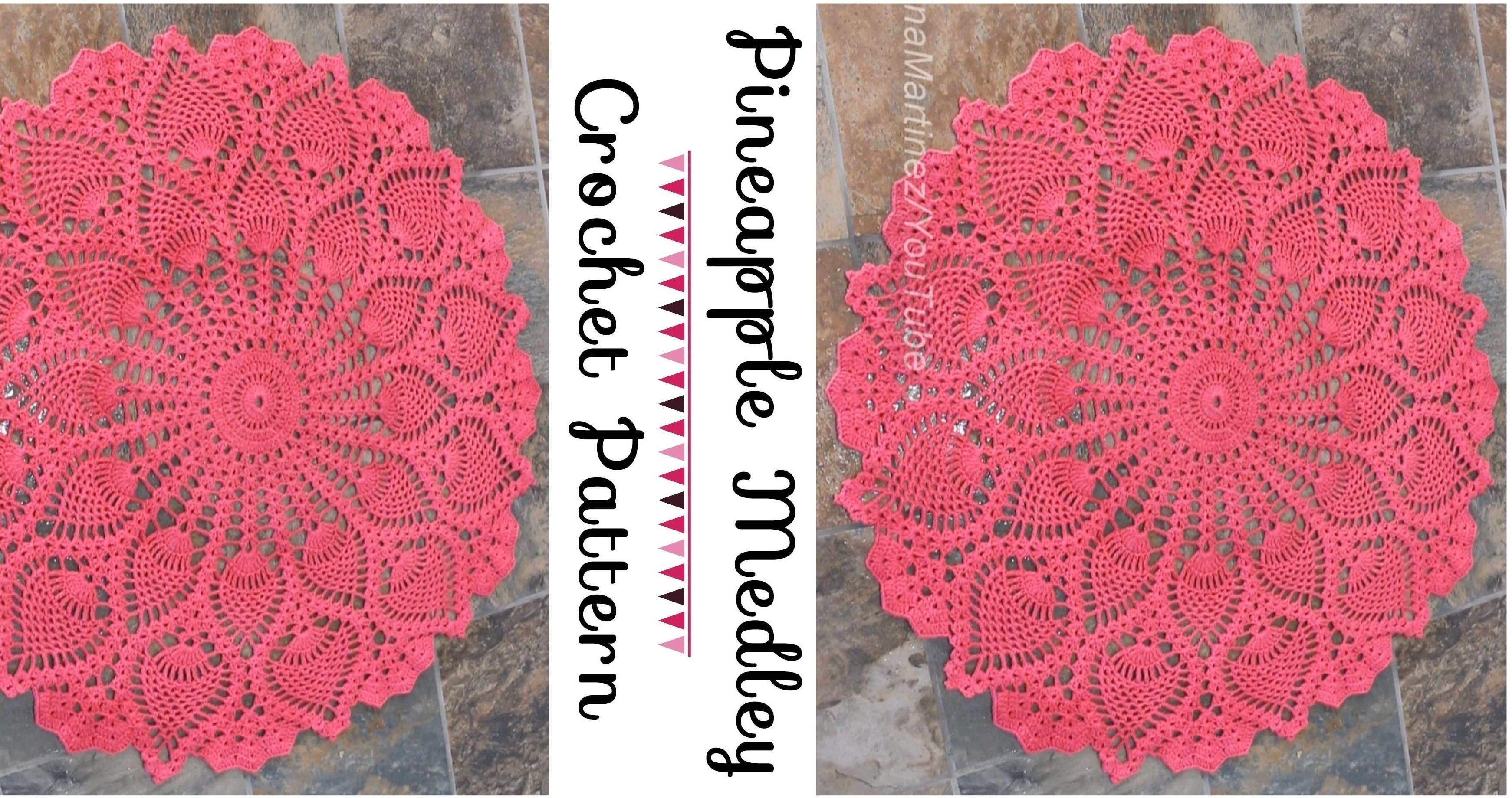 Pineapple Medley Crochet Pattern