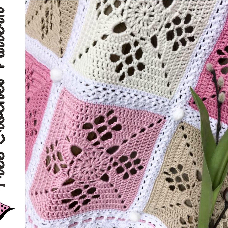 Victorian Lattice Square Crochet Pattern