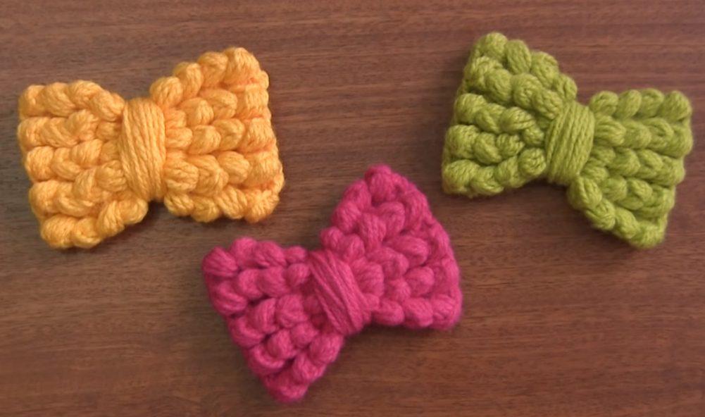Let's Make Bows – Free Crochet Patterns