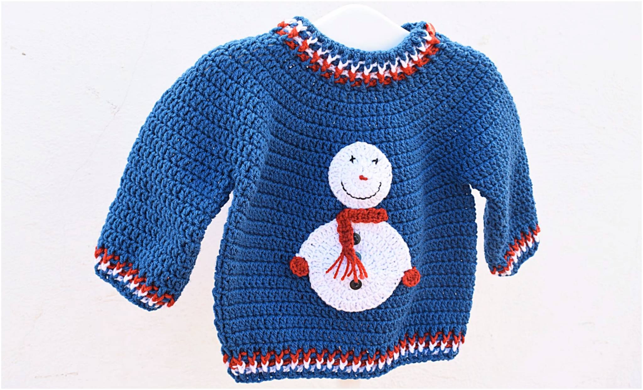 Christmas Sweater Free Crochet Pattern