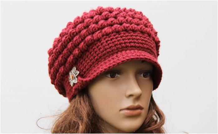 Crochet Brimmed Hat Free Pattern Yarnandhooks