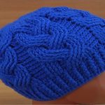 Cable Stitch Hat Crochet Tutorial
