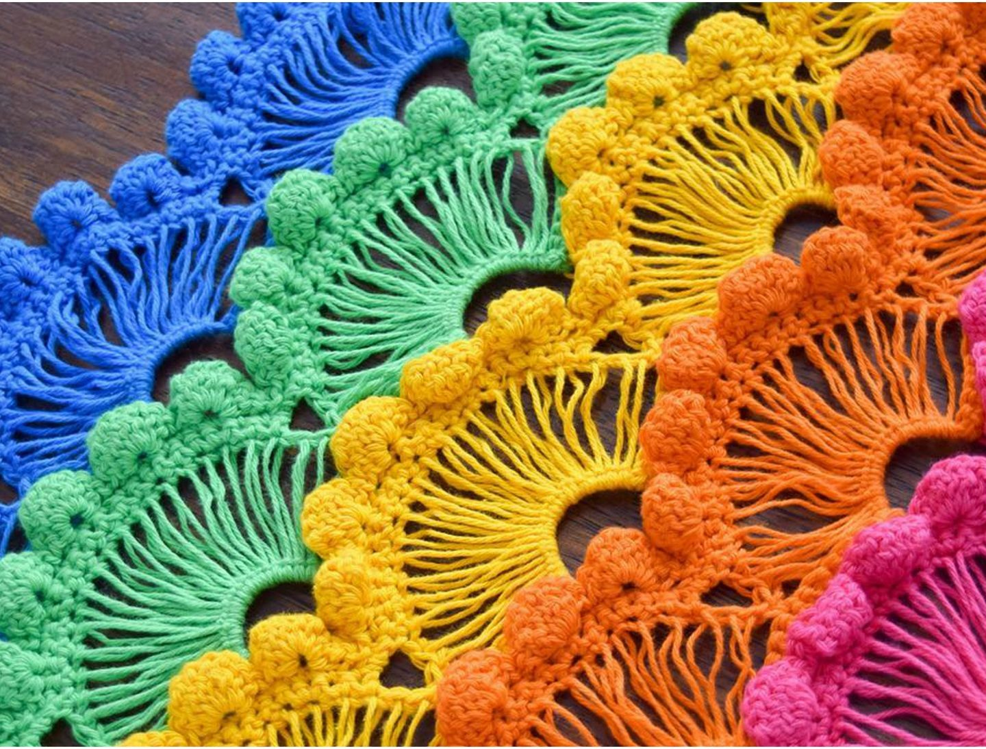 Crochet Fan Stitch – Step By Step Tutorials