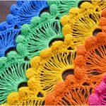 Crochet Fan Stitch – Step By Step Tutorials