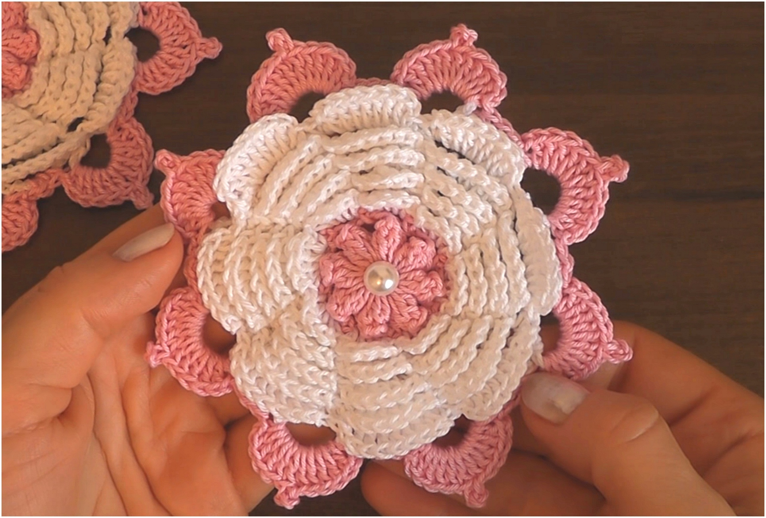 How To Make Spring Flower – Crochet Tutorial