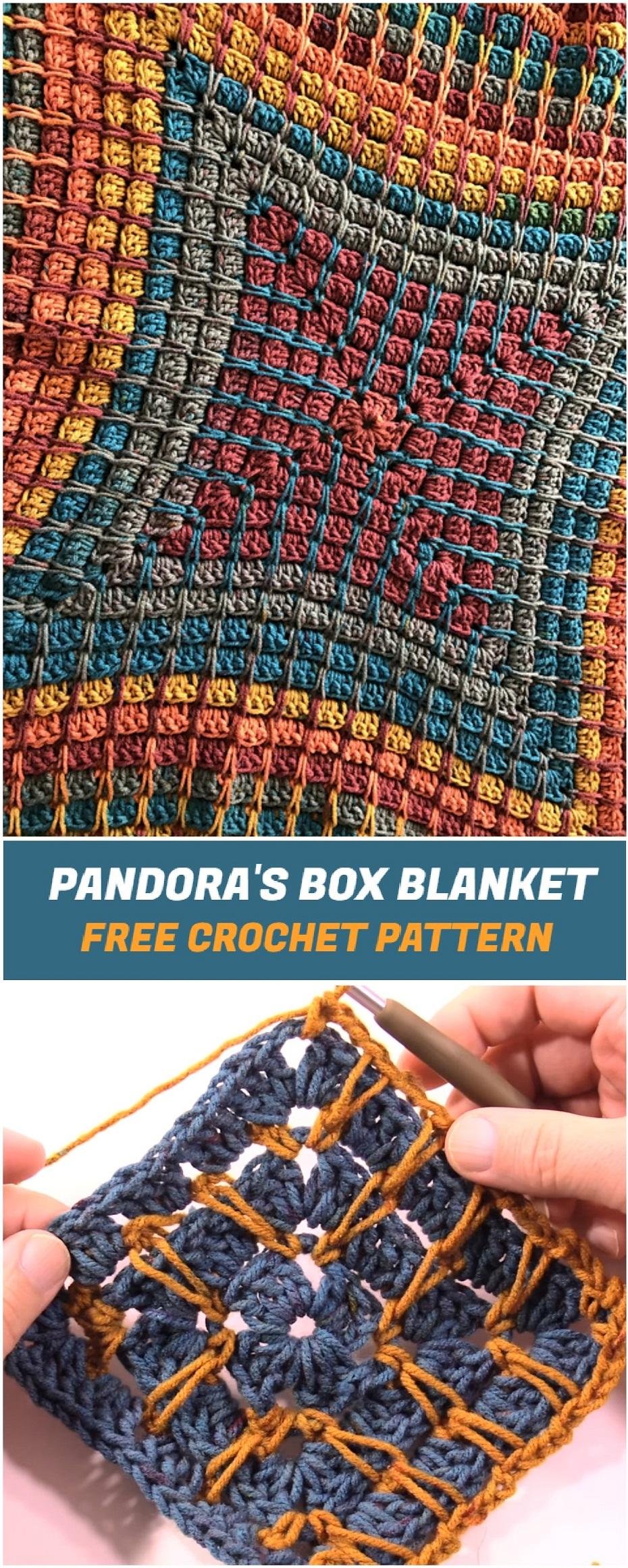 Pandoras box blanket free crochet pattern yarnandhooks pandoras box blanket link to the free pdf pattern is here dt1010fo