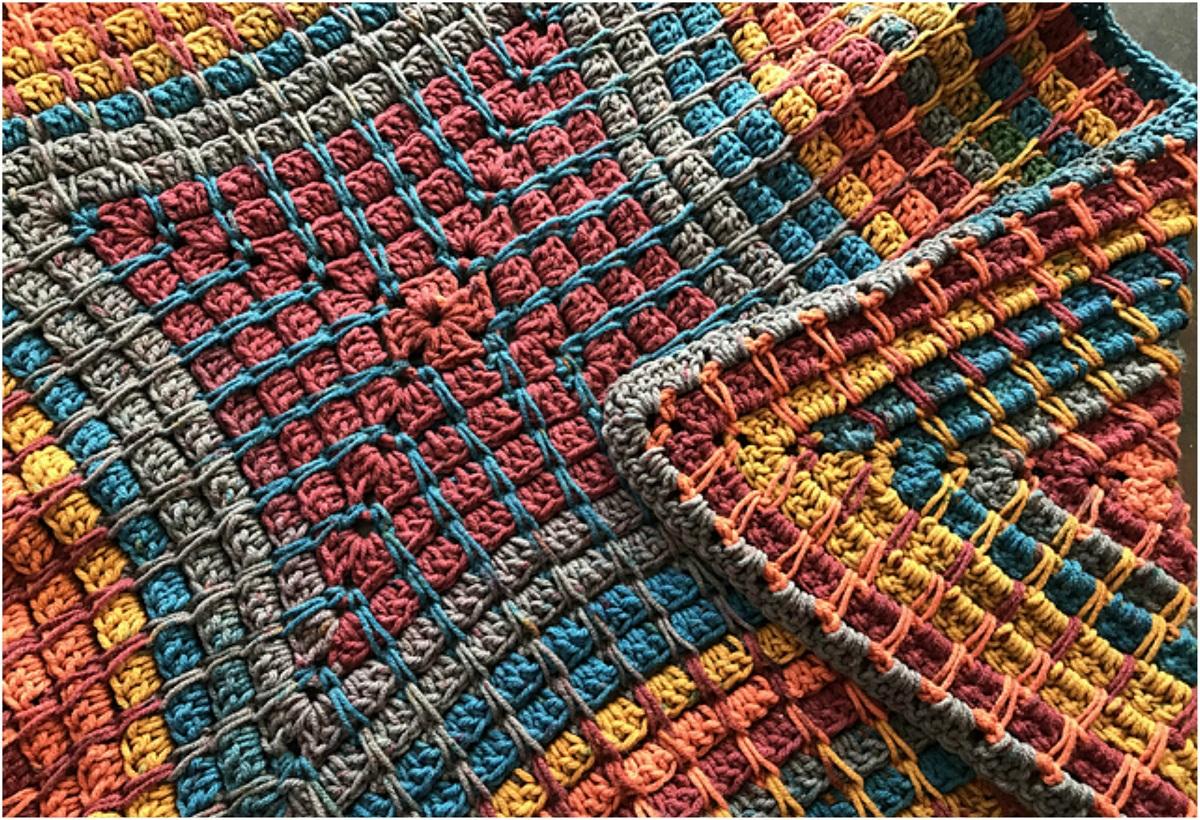 Pandora's Box Blanket – Free Crochet Pattern