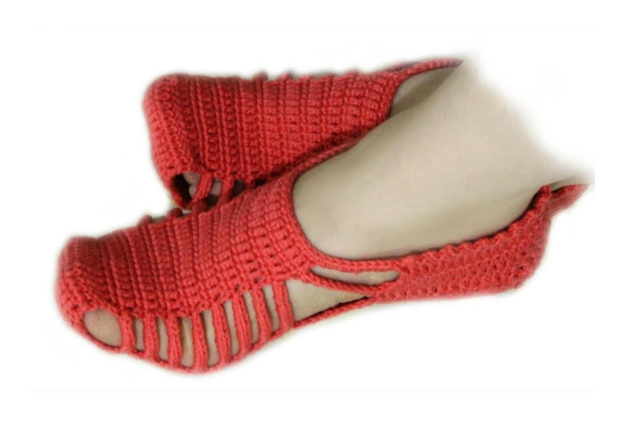 """Unique"" Slippers Crochet Tutorial"