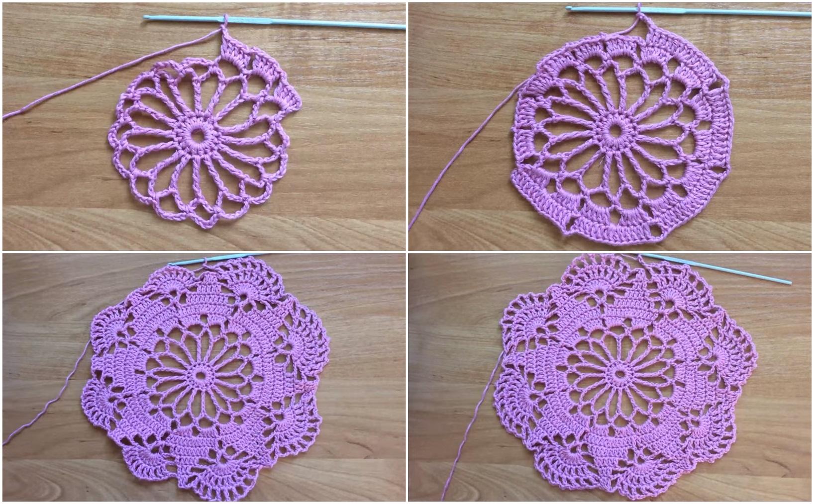 Easy To Make Doily Free Crochet Pattern Yarn Hooks
