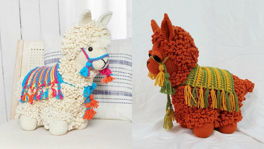 How To Crochet Llama Free Pattern Yarn Hooks