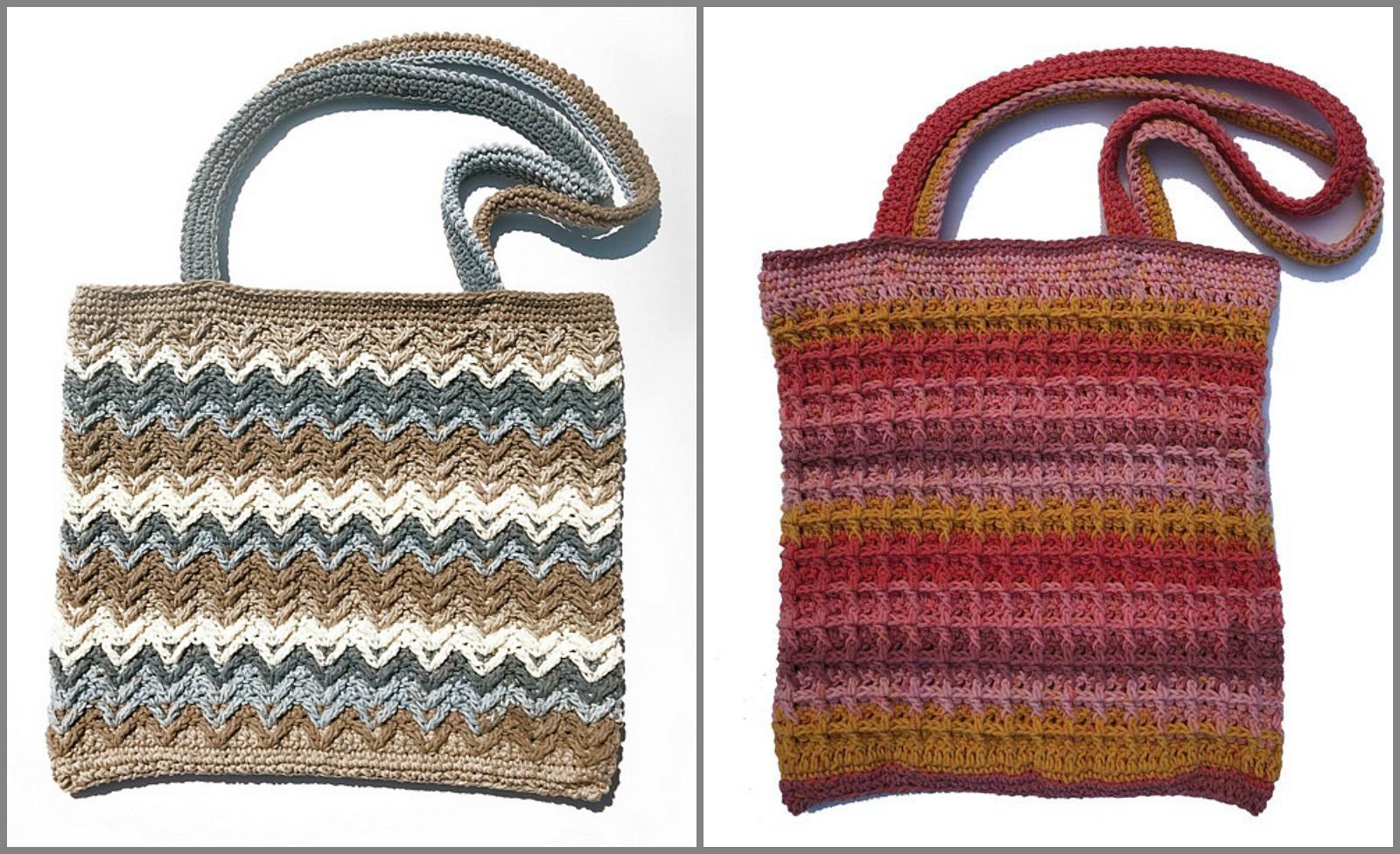 Crochet Bag Free Patterns Yarn Hooks