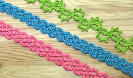 How To Crochet Ribbon Lace