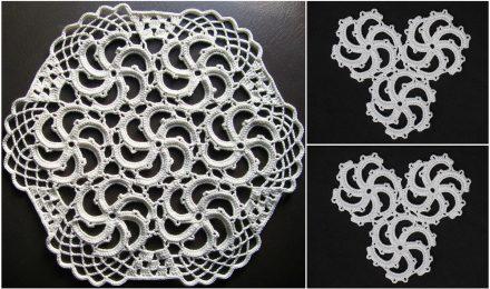 Spiral Doily Free Crochet Pattern