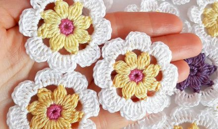 Crochet Flower Patterns For Beginners