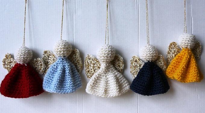 Christmas Angel Crochet and Knitting Patterns