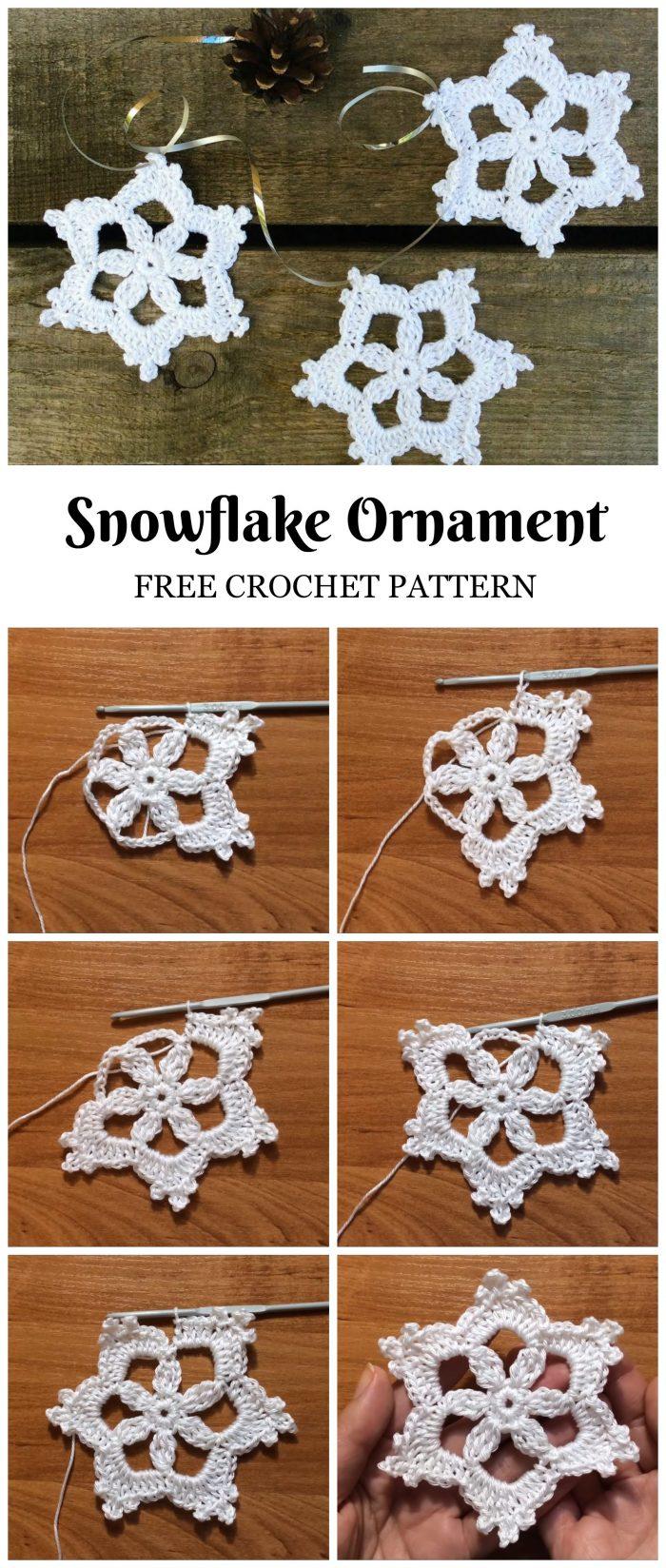 Crochet Snowflake Patterns For Beginners