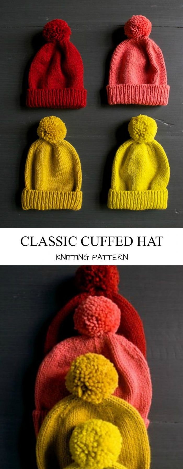 b2b18052374 This is a free pattern by Purl Soho on how to knit these warm and cozy