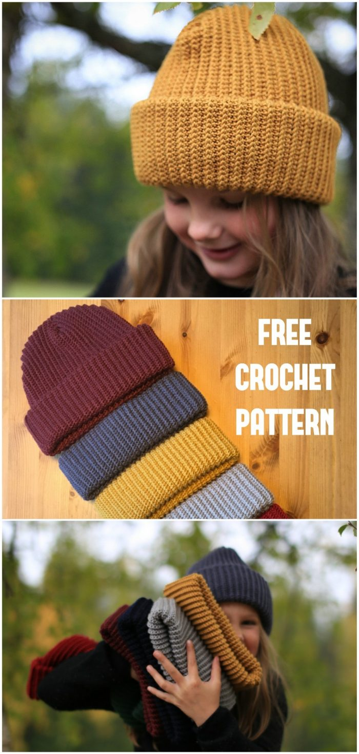 The Common People Hat Crochet Pattern