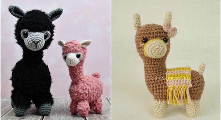 Alpaca Amigurumi Free Crochet Pattern | 410x750