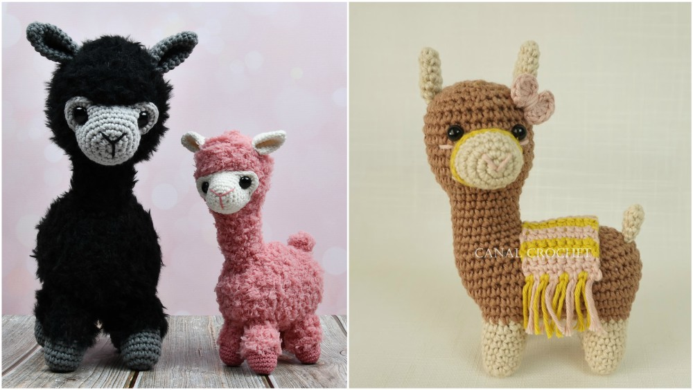 Huggable Crochet Alpaca (or Llama!) Toy - free pattern + tutorial | 564x1000