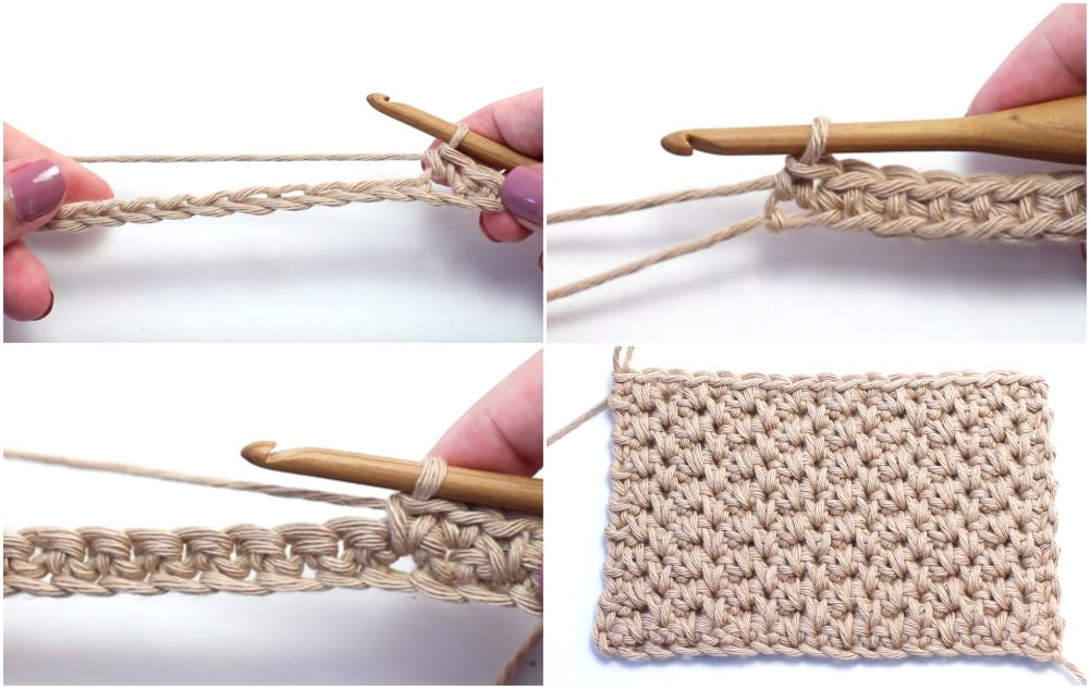 Alternating Spike Stitch Crochet Tutorial