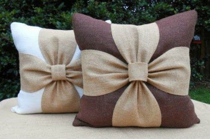 Flower Cushion Cover DIY Tutorial