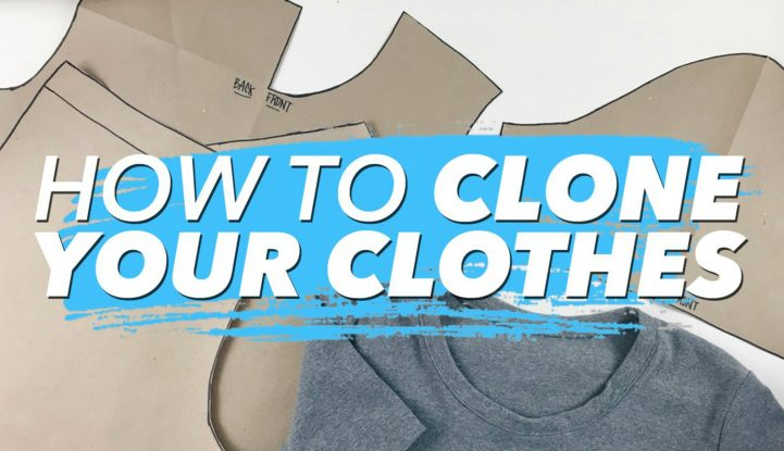 Clone Your Clothes Sewing Tutorial