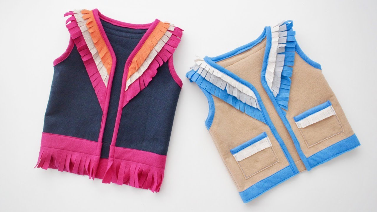 Sewing Vest Free Pattern