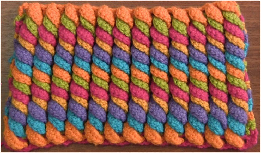3D Serpentine Stitch Crochet Tutorial