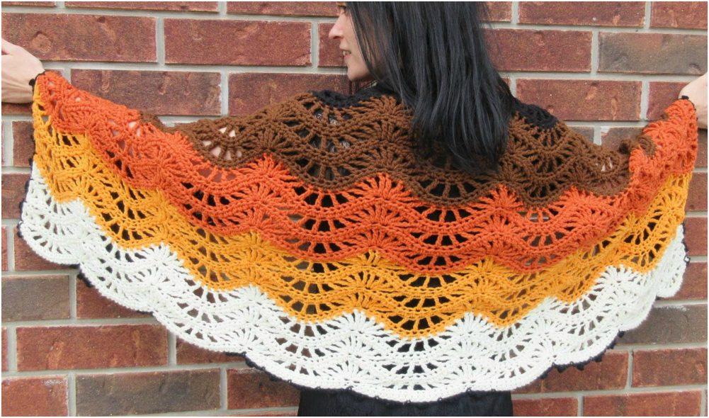 Autumn Moon Blanket/Scarf Crochet Tutorial