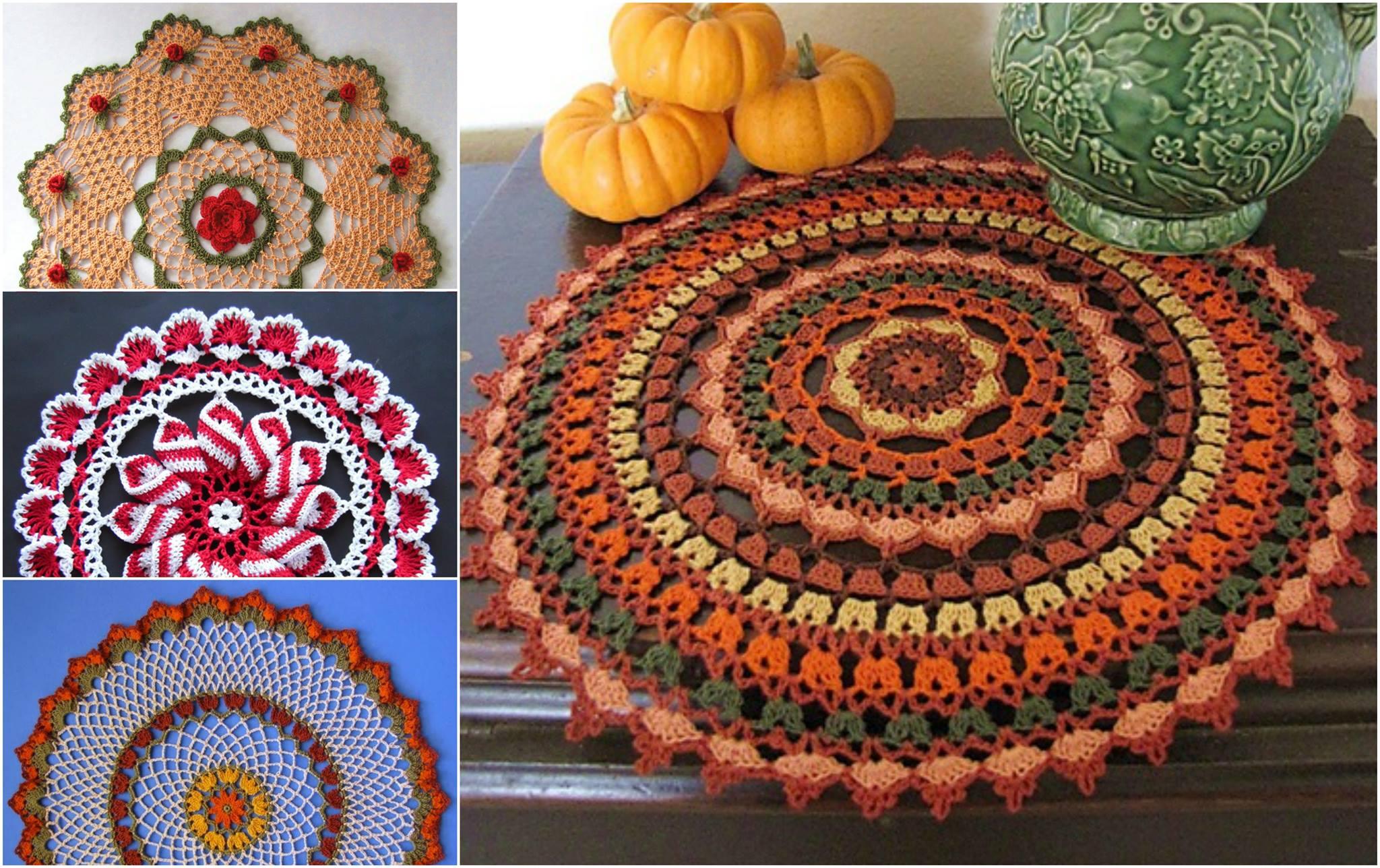 The Best Mandala Doily Crochet Patterns