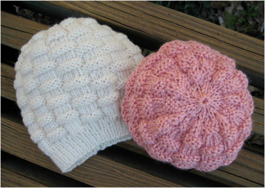 Basketweave Hat Free Knitting Pattern