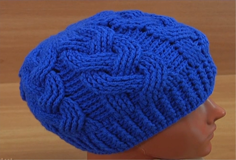 Cable Stitch Hat Crochet Tutorial
