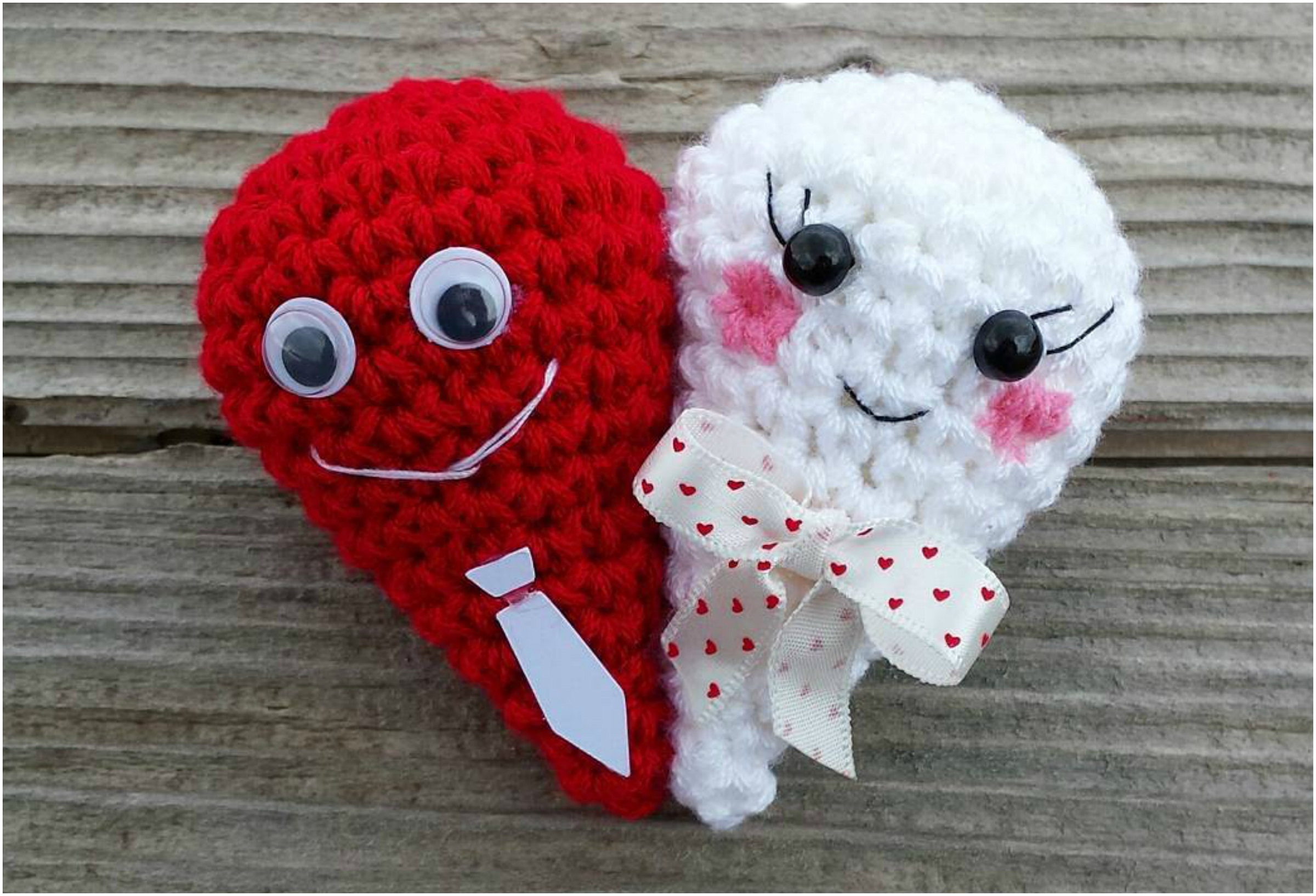How To Crochet Double Heart
