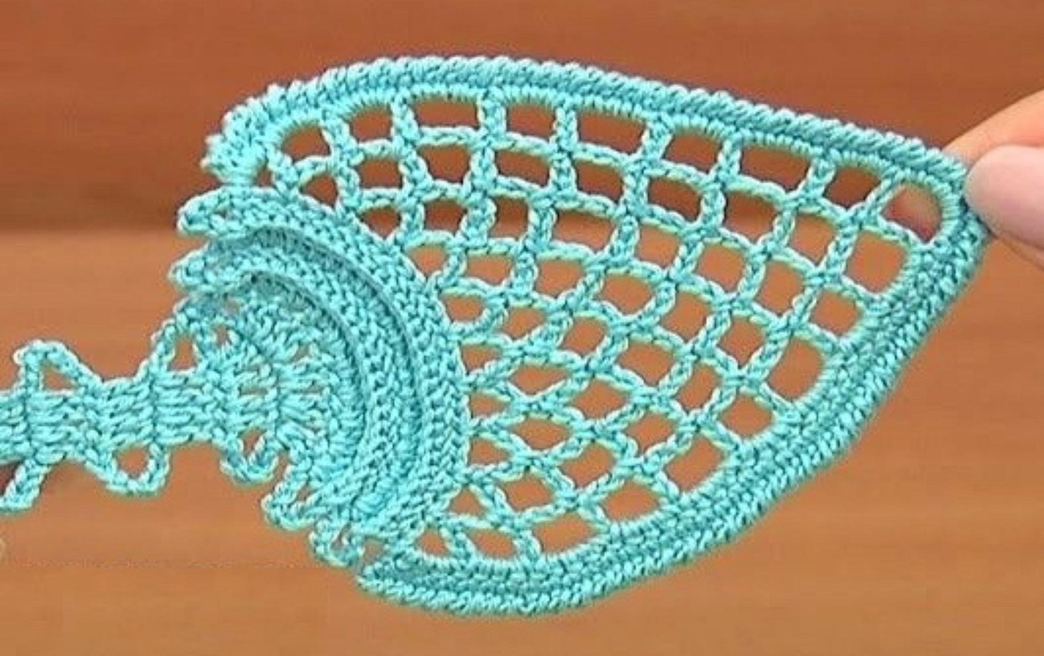 Leaf Motif In Bruges Lace Crochet Tutorial
