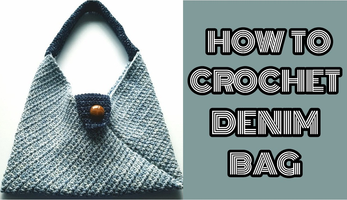 Denim Bag Free Crochet Pattern