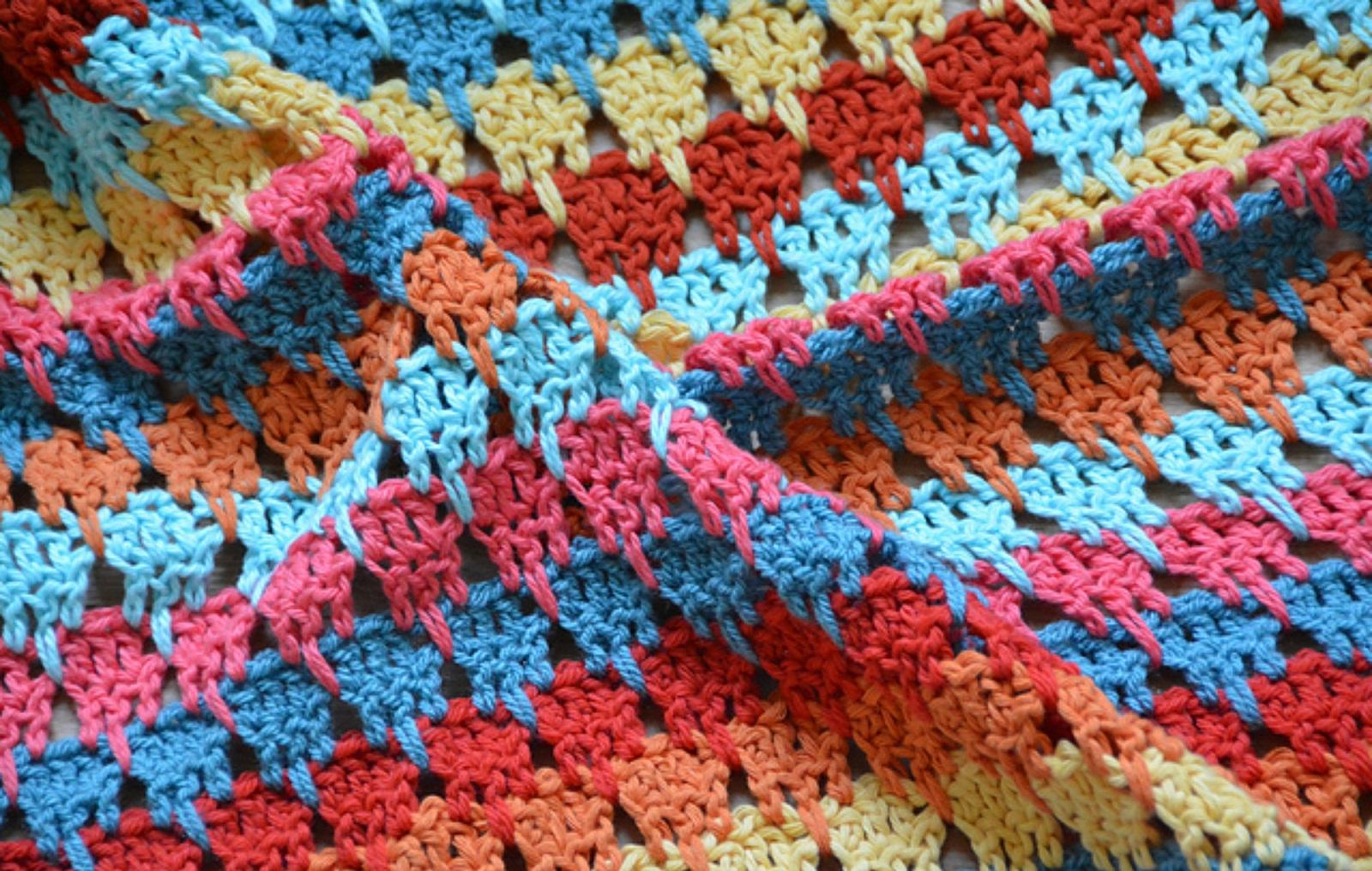 The Larksfoot Blanket Free Crochet Pattern