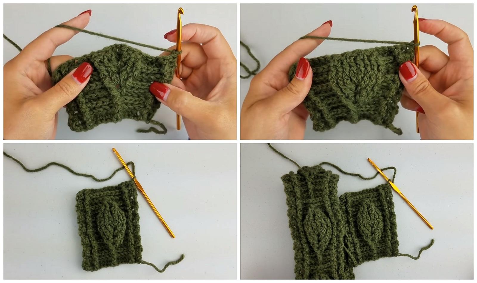 Crochet Leaf Headband – Learn To Crochet