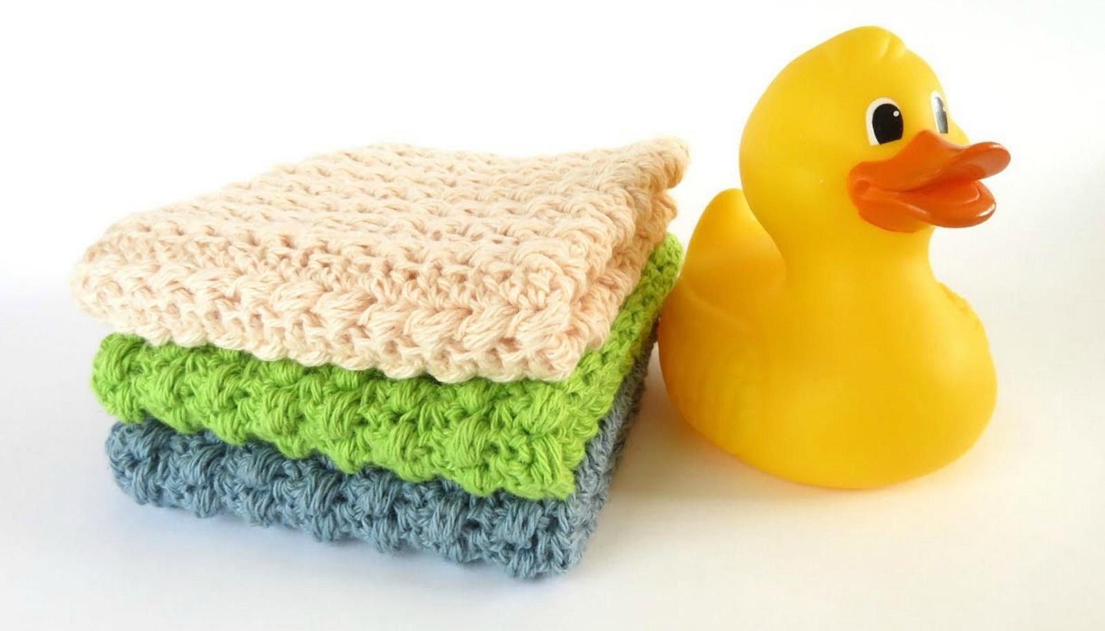 Scrubbie Washcloth Crochet Tutorial
