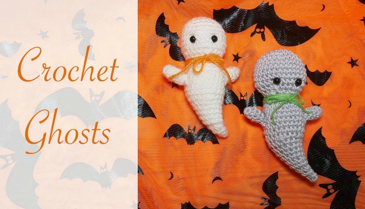 Halloween Crochet Ghost Tutorial