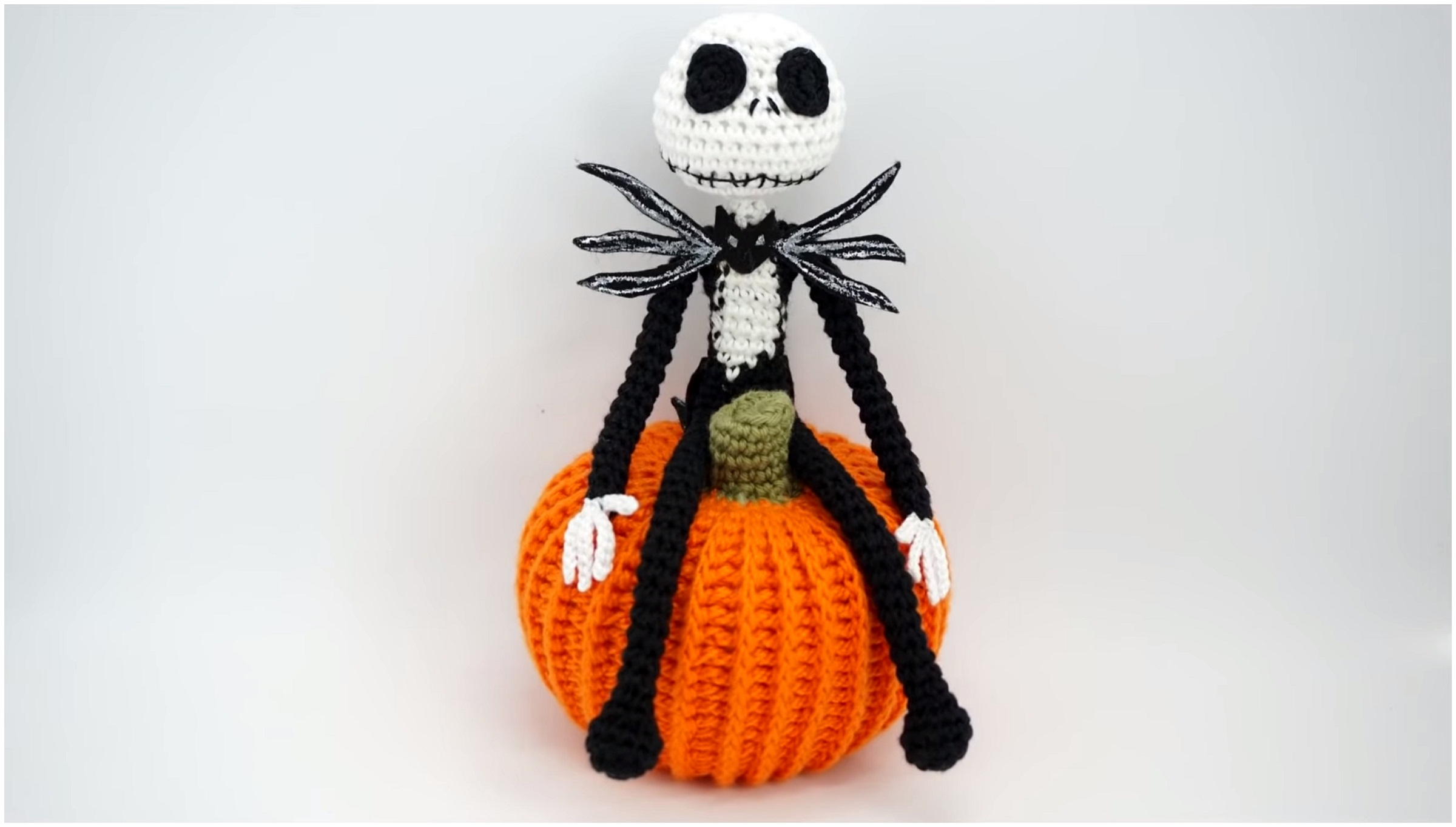Jack Skellington Crochet Tutorial