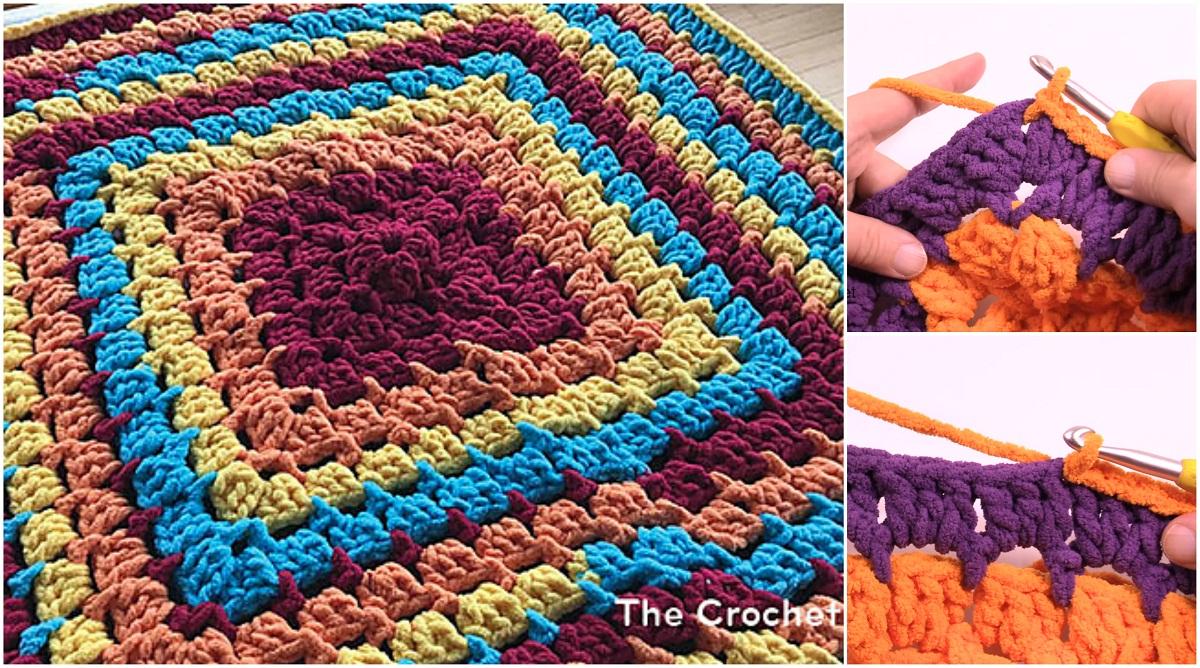 Toy Box Baby Blanket Free Crochet Pattern