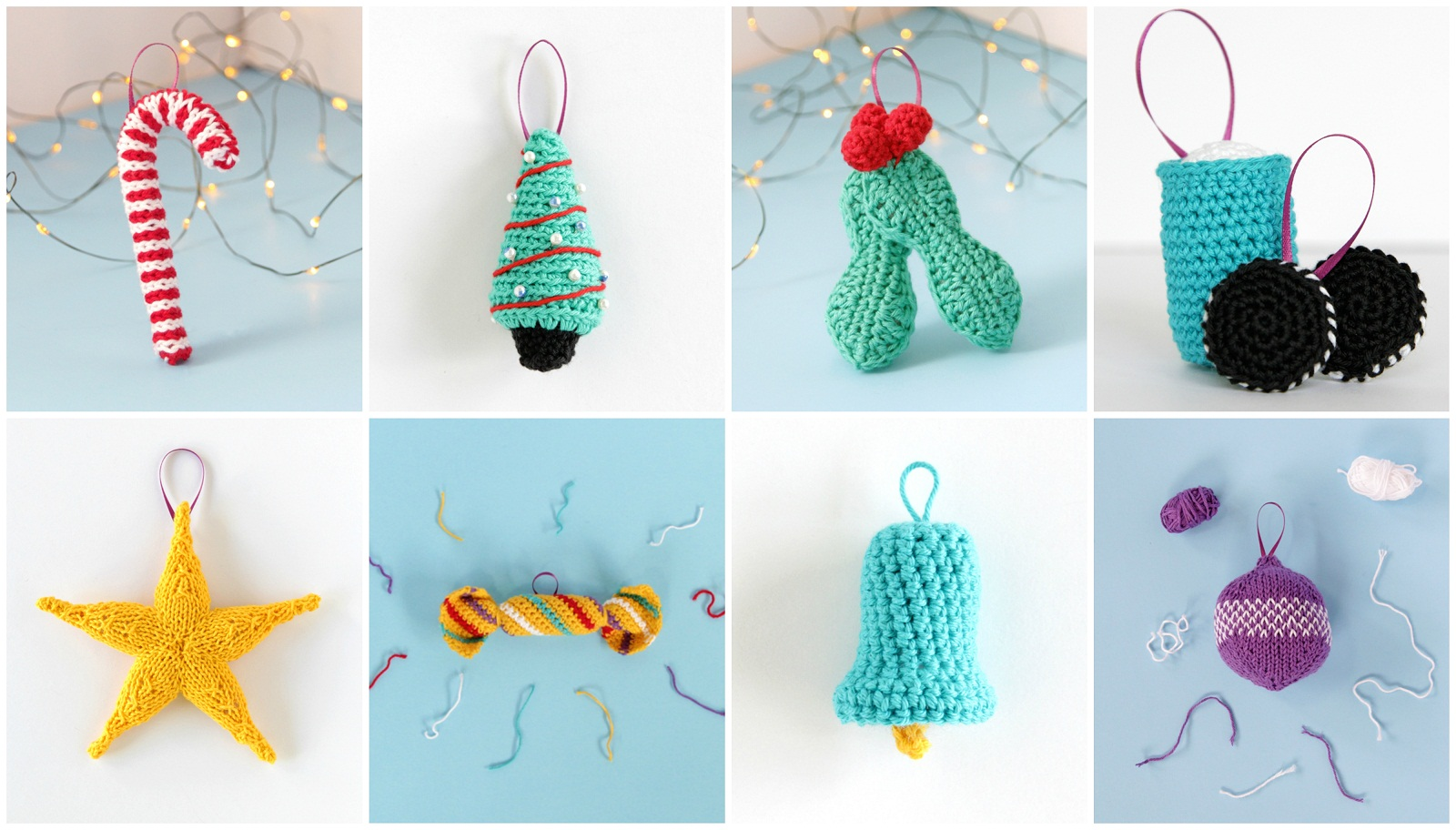 10 Christmas Ornament Patterns For Beginners