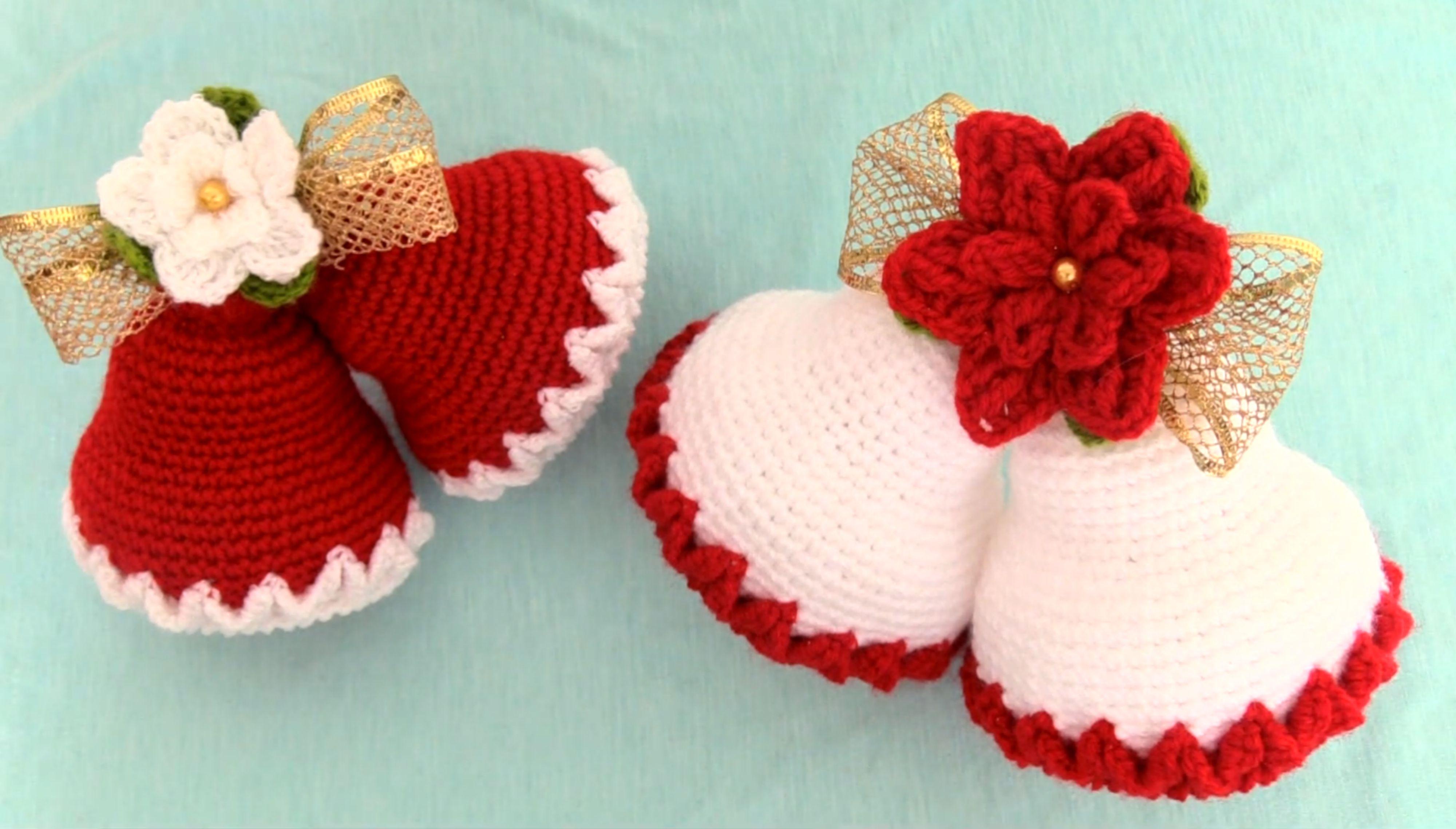 How To Crochet Christmas Jingle Bells