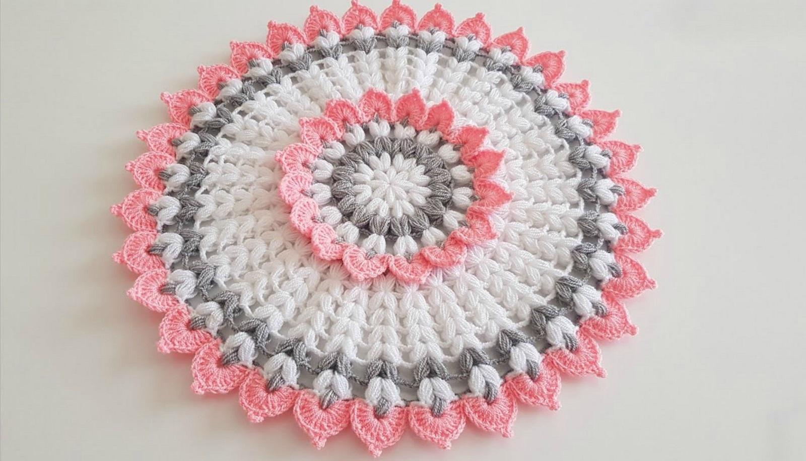 Flower Doily Crochet Tutorial
