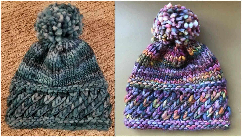 Perky Little Hat Free Knitting Pattern