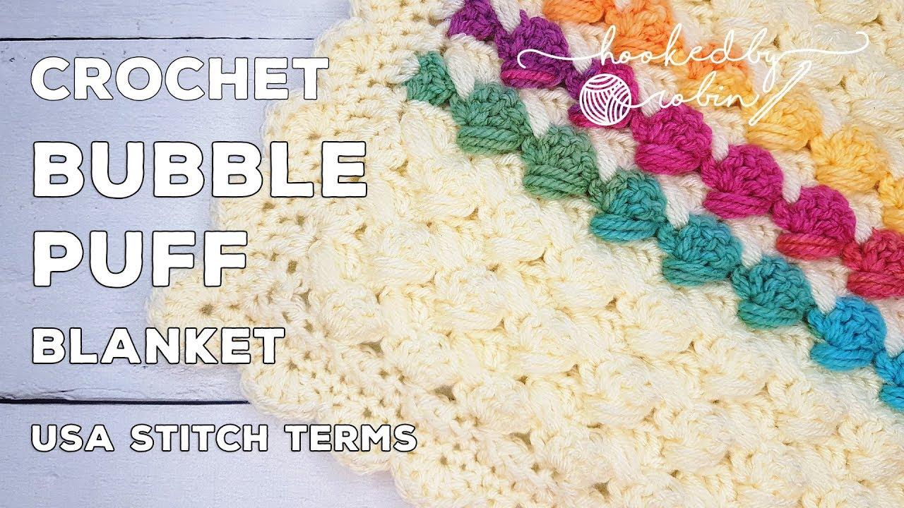 Bubble Puff Blanket – Free Crochet Pattern