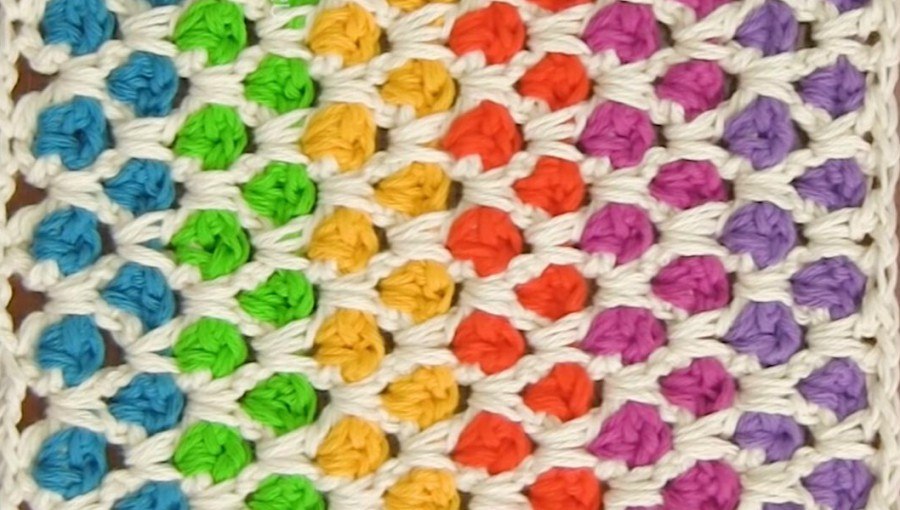 How To Crochet Moroccan Stitch