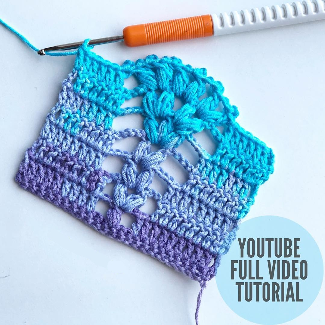 Quick and Easy Crochet Stitch Tutorial